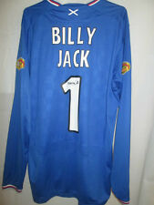 Rangers 2008-2009 Home Football Shirt Size Large Billy Jack /9789
