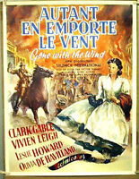 Foreign Art GONE WITH THE WIND Movie Poster- ROLLED