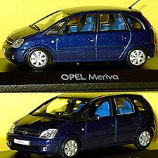 Vauxhall Meriva A 2003-10 blue blue metallic 1:43 Minichamps