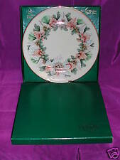 Lenox China Colonial Christmas Wreath Plate 1993 Nib