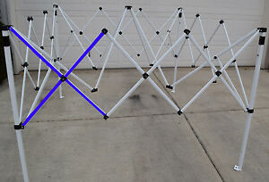 Ozark Trail SLANT Leg First Up 10 X 10 Canopy Gazebo Metal SIDE TRUSS Bar Parts