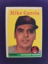 1958 Topps Baseball Card # 196 Mike Gaia - Cleveland Indians (VG/EX)