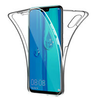SDTEK Case for Huawei Y9 (2019) Full Body 360 Cover Silicone Front and Back