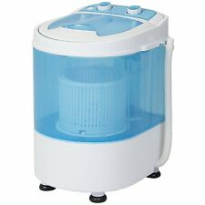 Best Choice Products Portable Mini Washing Machine Spin Cycle W/ Basket, Drain