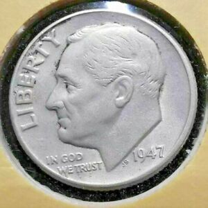 1947-P 10c Roosevelt Dime