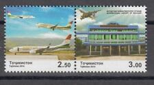 Tajikistan 2014 MNH** Mi.666-667 Zd A International Airport of Khujand
