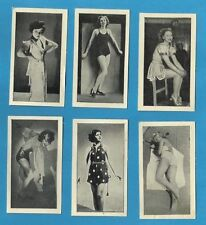 Loose Collectable Cigarette Cards Actresses/Beauties