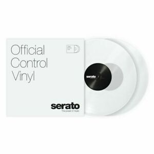 Serato Standard Colours 12 Inch Control Vinyl (clear, pair)