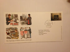 ROYAL MAIL 1ST DAY COVER THE OPENING OF TALLENTS HOUSE EDINBURGH 21-03-2001