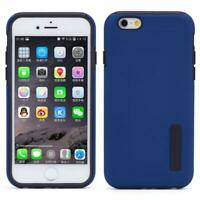 BLUE SHOCKPROOF HYBRID CASE DUAL LAYER ARMOR COVER N3K for iPhone 6 / 6S Phones