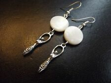 Turquoise Hook Natural Costume Earrings