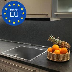 Schiefer-Optik Küchenrückwand Kunststoffplatte Wandverkleidung Fliesenspiegel