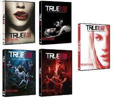 True Blood - Stagioni 1,2,3,4 e 5  in DVD Cofanetti Singoli (25 DVD) Sigillati