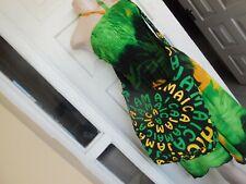 Handmade Jamaican Flag Color Stud close Handbag 100% Cotton Size 11 x 16  in.