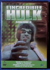 L'INCREDIBILE HULK - STAGIONE 3 - EPISODI 13-16 - DVD N.02643