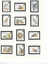 South Georgia & South Sandwich Is: 1999 Birds set of 12, MNH