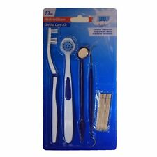 13 Pcs Dental Care Kit Clean Teeth Mirror Tooth Pick Toothbrush Tongue Brush