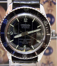 ANTIQUE VINTAGE C1968 CARDINAL SUBMARINE TV CULT WATCH 'THE CHAMPIONS' WORKING