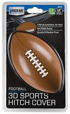 """REESE Football 3D Sports Hitch Cover 2"""" Receiver NFL NCAA PACKERS HIGH SCHOOL"""