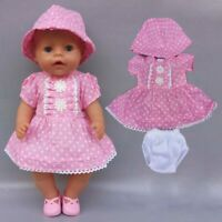 """Doll Clothes For 43cm Born Baby Doll Boy Clothes Green Frog For 17"""""""