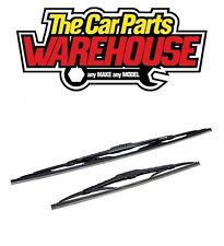 """Any Mixed Pair of Wiper Blades Good Quality too fit ALL """"hook"""" type Wiper Arm 24"""