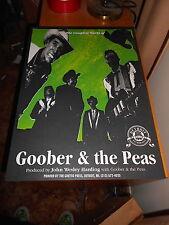 """Goober & the Peas PROMO POSTER SILK SCREEN 16""""X22"""""""