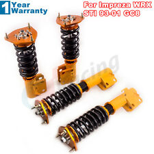 Coilovers Suspension Coil Struts for Subaru Impreza WRX GC8 Height Adjustable