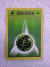 Carte Pokémon énergie plante 99/102 wizard set de base logo 1er édition
