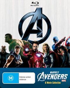 Avengers Blu Ray Marvel - AVENGERS +  IRON MAN + HULK + THOR + CAPTAIN AMERICA +