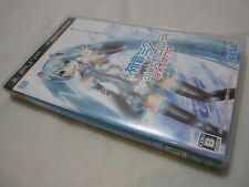 7-14 Days to USA. Hatsune Miku Project Diva Extend for PSP. Japanese Version.