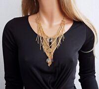 guess ubn21225 kette halskette damen in farbe gold kristall  neu