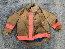 Morning Pride Firefighter Bunker Gear Jacket Coat Model 1430 Vintage Gar