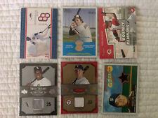 20 premium MLB baseball lot game used jersey bat Sosa Thomas Teixeira Robinson