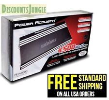 Power Acoustik RE1.4500D 4500 Watt 1 Channel Monoblock Car Amplifier RE1-4500D