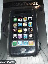 iFrogz Silicone Treadz Case Black iPhone 3G/3GS *New