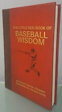 N) The Little Red Book of Baseball Wisdom by Wayne Stewart (2012 Hardcover Book)