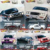 2020 Hot Wheels Car Culture Mix T Power Trip 5 Car Set GMC Syclone Chevy Demon