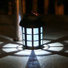 Outdoor Solar LED Lanterns 2 PK Umbrella Hanging Garden Patio Emergency Lights