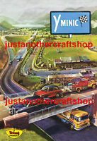 Triang Minic Motorway 1960's Large A3 Size Poster Advert Leaflet Sign Fantastic!