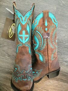 Western Cowboy Boots - Ladies Size 5.5 - New in Box