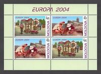 "Moldova 2004 CEPT Europa ""Vacation"" MNH stamps Booklet"