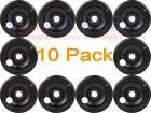 "10 Pack GE Hotpoint Stove Range Cooktop 8"" Black Burner Drip Pan Bowl PM32X143 photo"