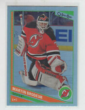 13/14 OPC New Jersey Devils Martin Brodeur Rainbow card #328