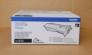 New Genuine BROTHER TN-850 Black Toner Cartridge OEM