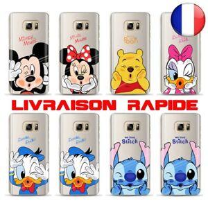 Coque Samsung Souple Galaxy S9 /S9 Plus Cas Mickey Minnie Disney Daisy Stitch