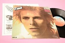 BOWIE 2LP SPACE ODDITY THE MAN .. ORIG FRANCE 1972 EX !!! TOOOOP RARE EDITION !!