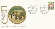 South Africa 1981 Addo Elephant National Park FDC Unaddressed VGC