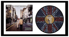 OASIS - MEMORABILIA - WONDERWALL & ALBUM COVER - VINYL RECORD LYRIC ART - Ltd Ed