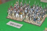 28mm napoleonic / french - regiment 32 figures plastic - inf (33080)