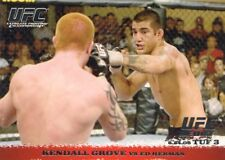 2009 TOPPS UFC ROUND 1 DEBUT  ROOKIE RC KENDALL GROVE #41